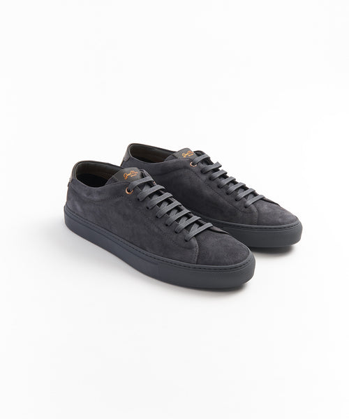 EDGE SNEAKER IN SUEDE / CHARCOAL