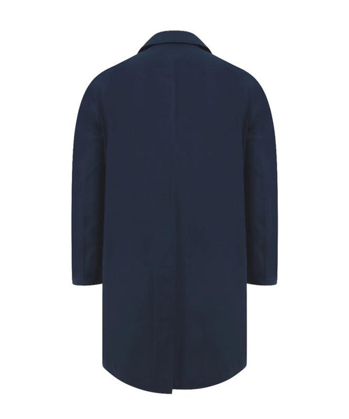 Private White V.C. Navy Ventile Mac Coat 3.0 G16396-MIDNIGHT