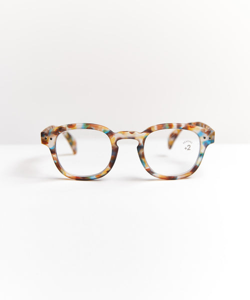 READING GLASSES #C / BLUE TORTOISE