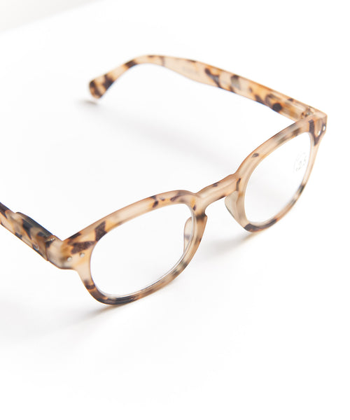 READING GLASSES #C / LIGHT TORTOISE