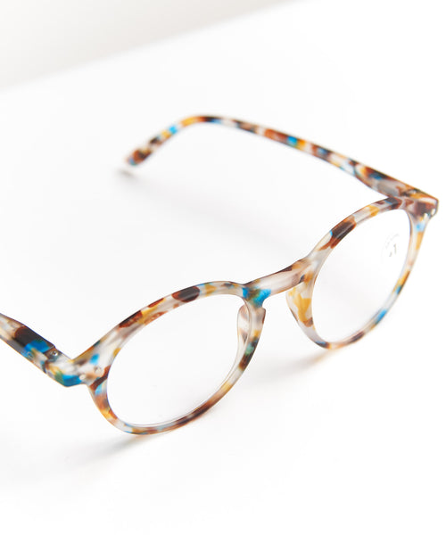 READING GLASSES #D / BLUE TORTOISE
