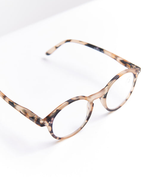 READING GLASSES #D / LIGHT TORTOISE