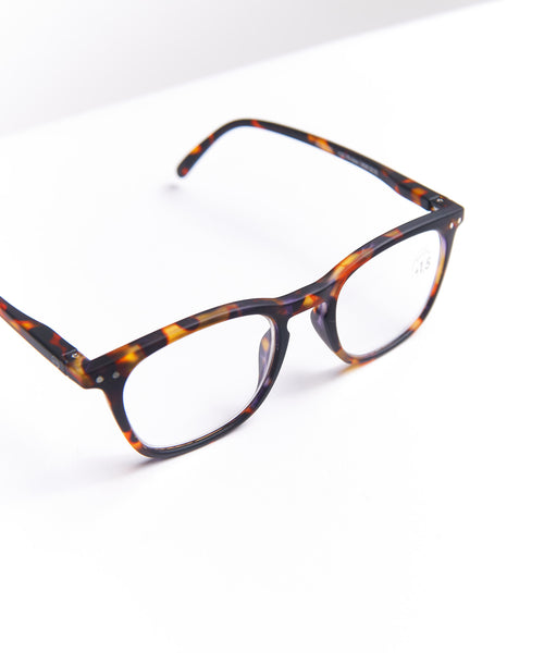 READING GLASSES #E / TORTOISE