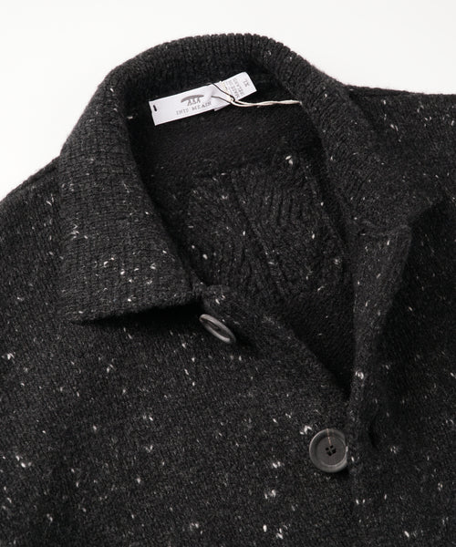 RAFTERY 'POET'S COAT' CARDIGAN / CHARCOAL