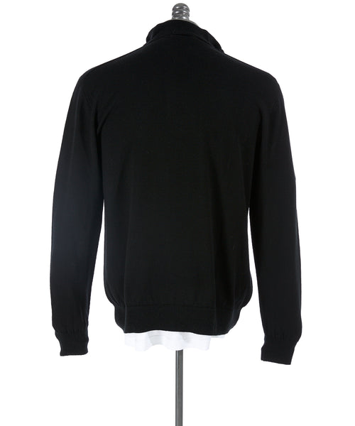 Inis Meáin Blackstairs Wool Quarter Zip Sweater
