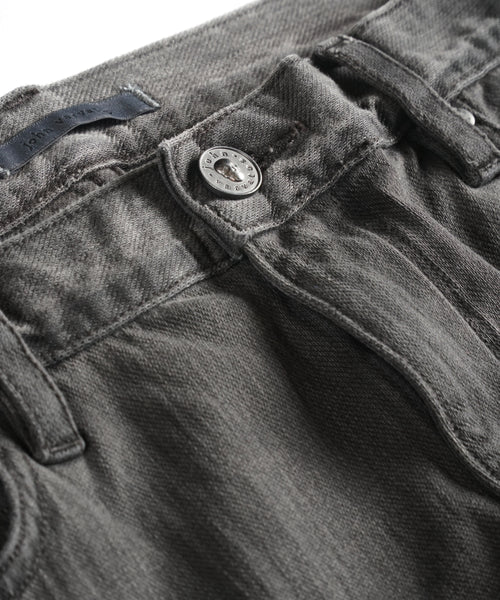 ZIPPER POCKET CHELSEA JEAN / CARBON