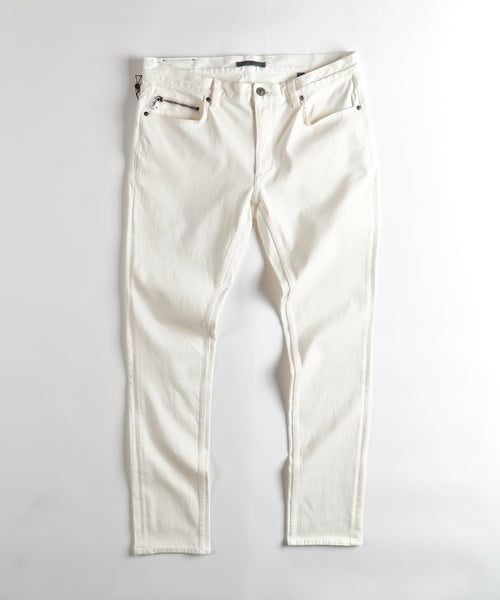 ZIPPER POCKET CHELSEA JEAN / IVORY