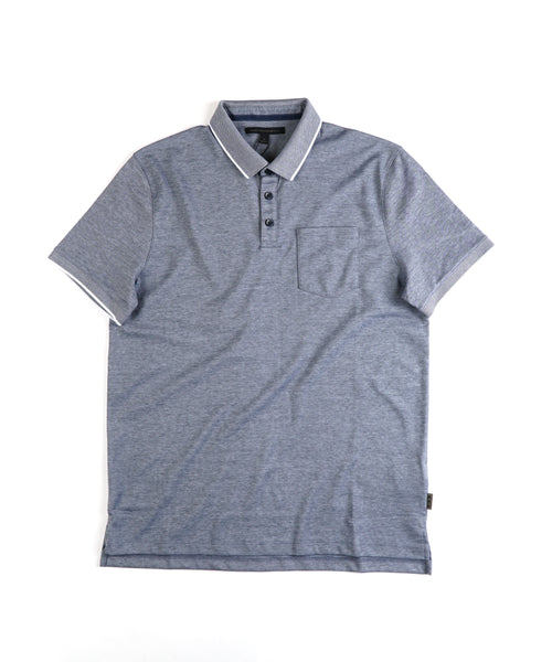 CAMBRIDGE' PIQUE POLO / BLUE