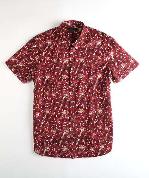 'JASPER' SHORT SLEEVE SHIRT / RED