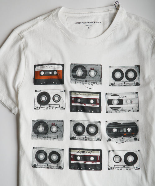 TAPES T-SHIRT / IVORY