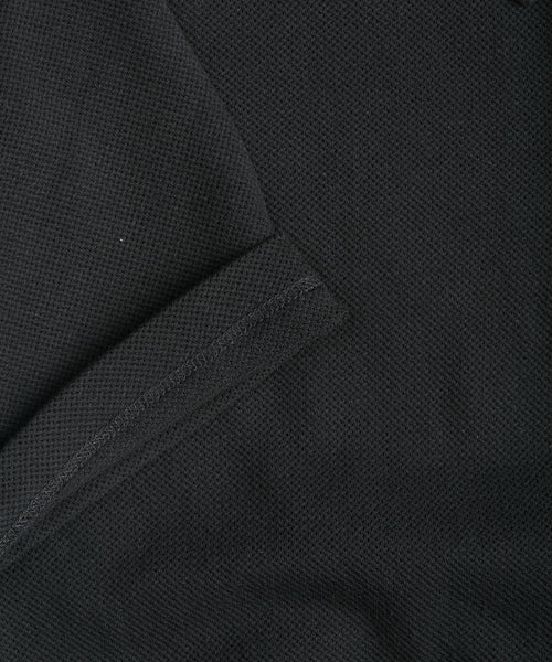SHORT SLEEVE RIVIERA POLO SHIRT / BLACK