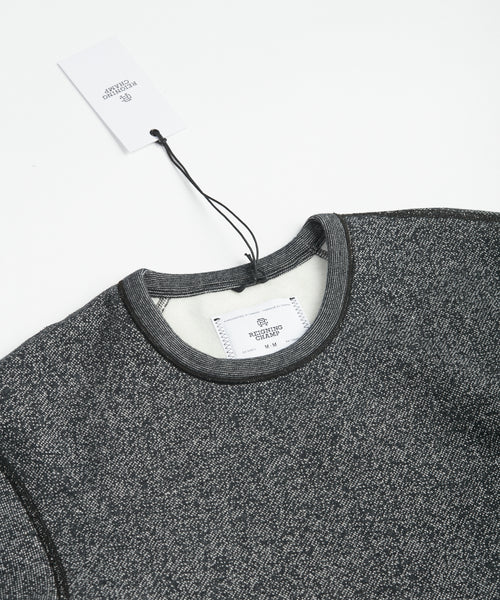 Reigning Champ RC-3398-BLACK Tiger Fleece Pullover Sweater