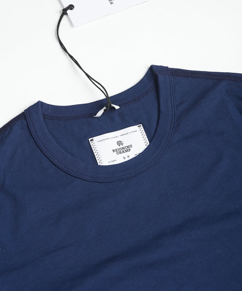 Reigning Champ RC-1028-7-BLUE Cotton T-Shirt