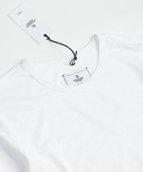 Reigning Champ RC-2087-WHITE Pima Long Sleeve T-Shirt