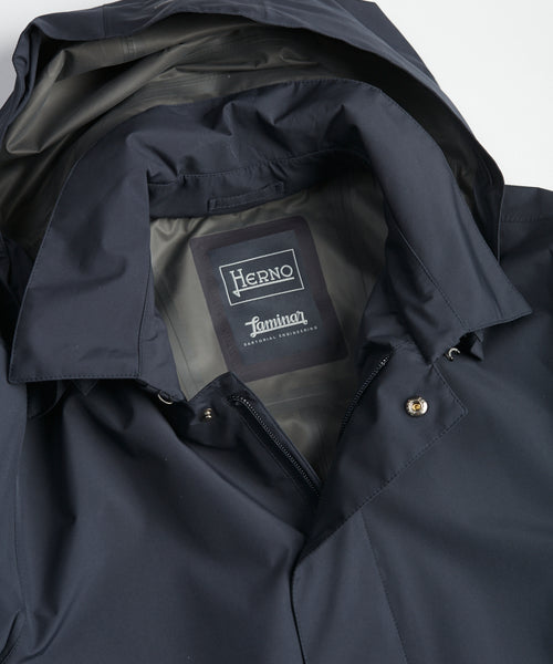 GORETEX 'PACLITE' CITY TRENCHCOAT / NAVY