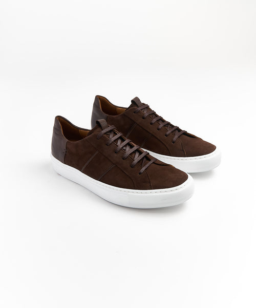 ASSAM SUEDE SNEAKER / CHOCOLATE