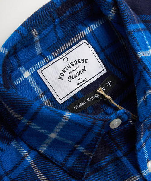 PORTUGUESE FLANNEL BLUE FLANNEL SHIRT