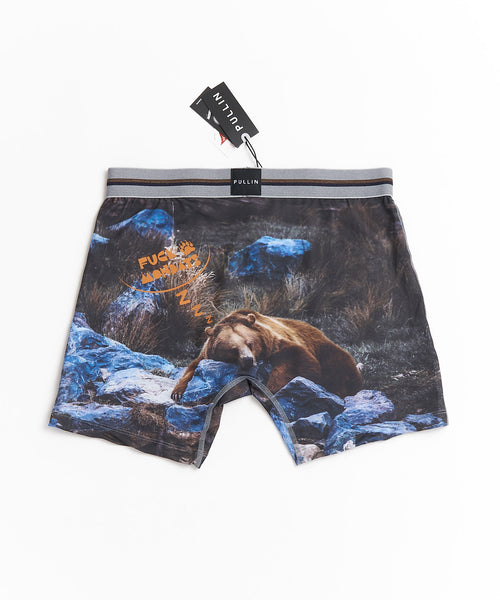 FASHION2' F*** MONDAYS BOXER BRIEFS / GREY