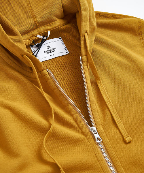 RC 3545 Reigning Champ Medallion Full Zip Hoodie
