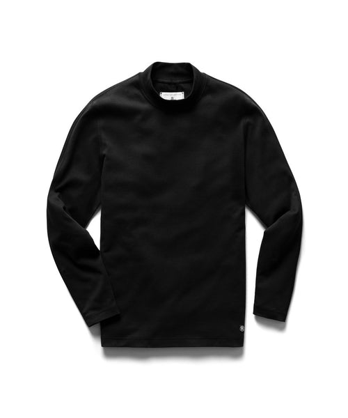 Reigning Champ Black High Neck Pullover RC-2158-BLACK