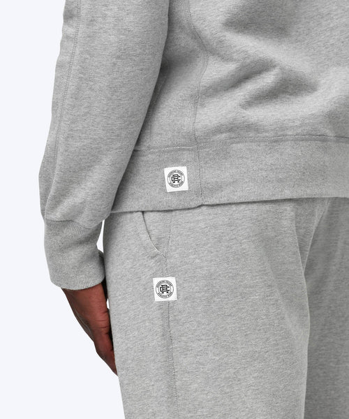 Reigning Champ Heather Grey Midweight Terry Hoodie