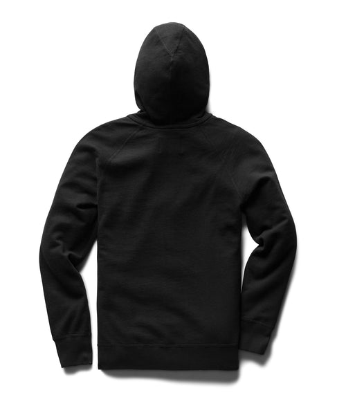 Reigning Champ LIGHTWEIGHT TERRY PULLOVER HOODIE RC-3529-BLACK
