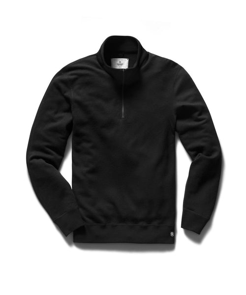 Reigning Champ Black Merino Wool Pullover RC-3589-BLACK