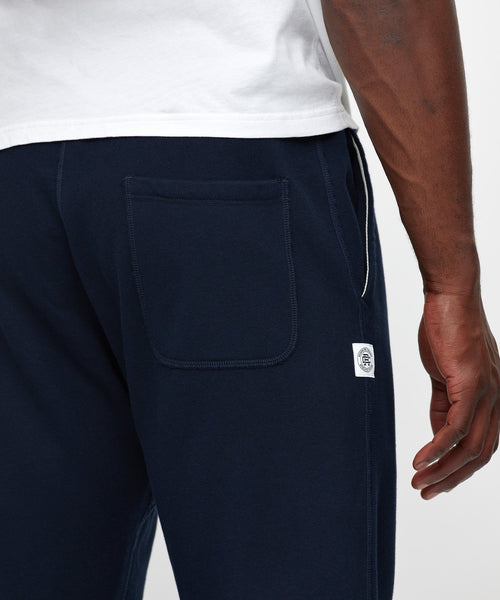 Reigning Champ RC-5075-NAVY MIDWEIGHT TERRY SLIM SWEATPANT