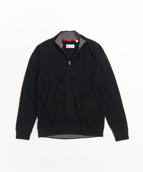 THE VASA SWEATER / BLACK