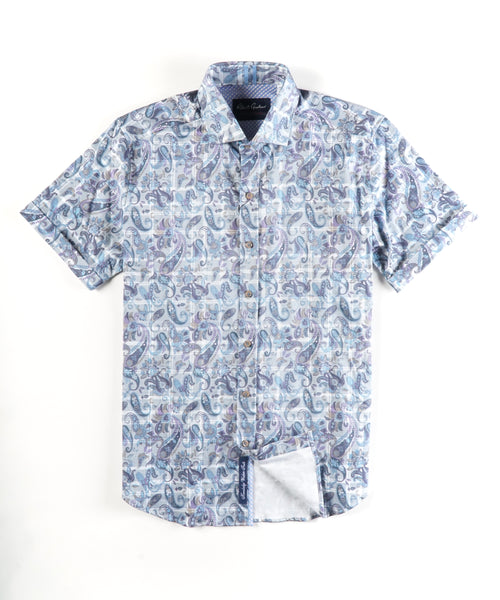 SHAW SHORT SLEEVE SHIRT / MULTI
