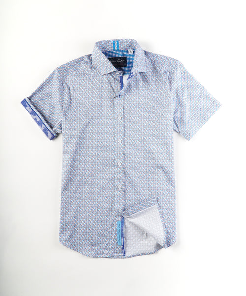 WEST SHORT SLEEVE SHIRT / MULTI