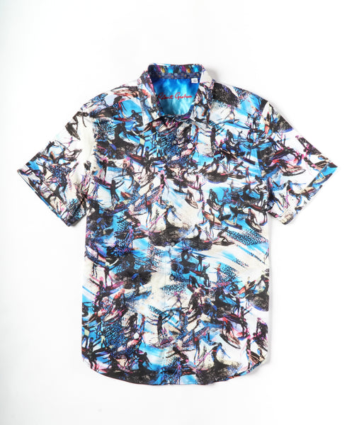POINT BREAK SHORT SLEEVE SHIRT / MULTI