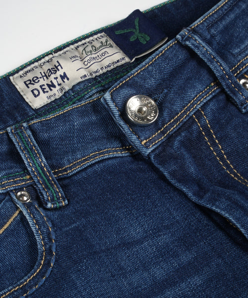 RUBENS 10 oz. WASHED JEANS / BLUE