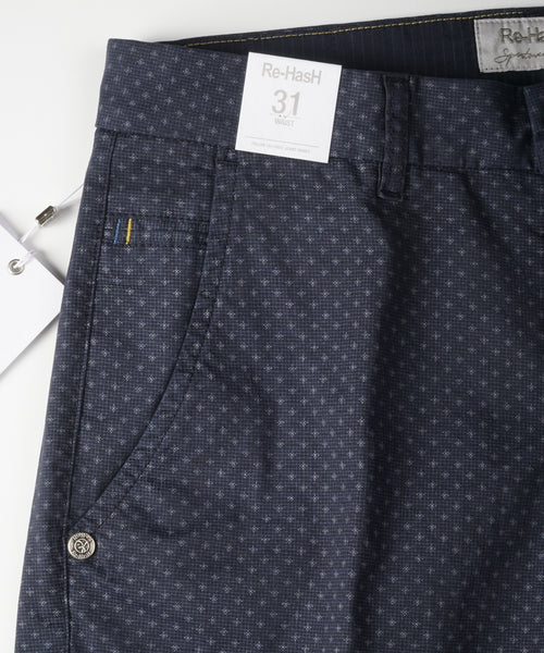 BERNINI PRINTED SHORTS / NAVY