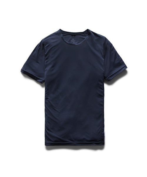 Reigning Champ DELTAPEAK KNIT TRAINING T-SHIRT / NAVY