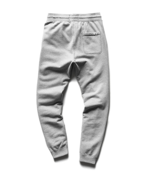 LIGHTWEIGHT TERRY SLIM SWEATPANT / GREY