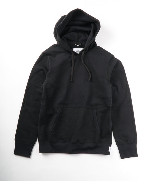HEAVYWEIGHT TERRY PULLOVER HOODIE / BLACK
