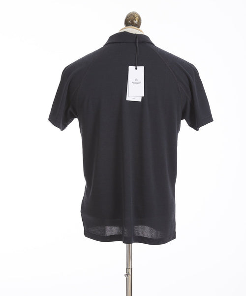 Reigning Champ Black Power Dry Polo Shirt