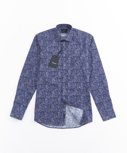 CLASSIC PAISLEY PRINT LONG SLEEVE SHIRT / MULTI