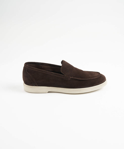 CHOCOLATE SUEDE SUMMER WALK SNEAKER
