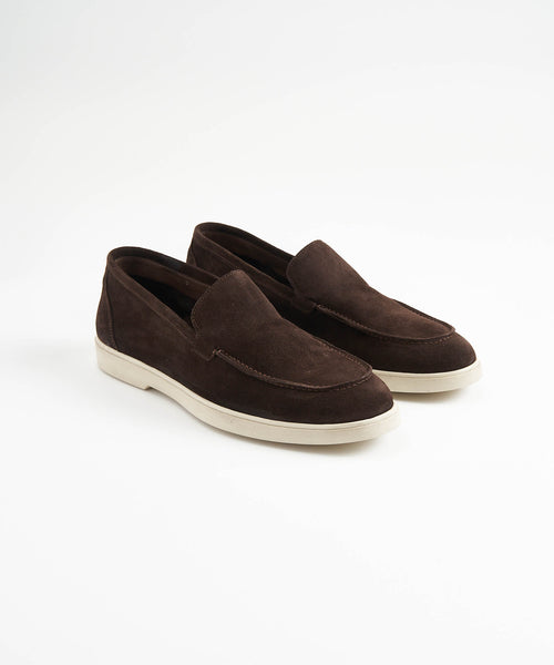 CHOCOLATE SUEDE SUMMER WALK LOAFER SNEAKER