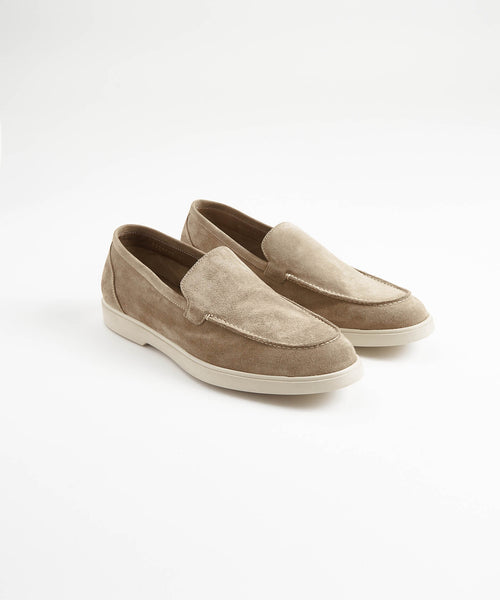 TAN SUEDE SUMMER WALK LOAFER SNEAKER