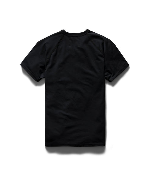 Reigning Champ 1169-BLACK Copper Jersey T-Shirt