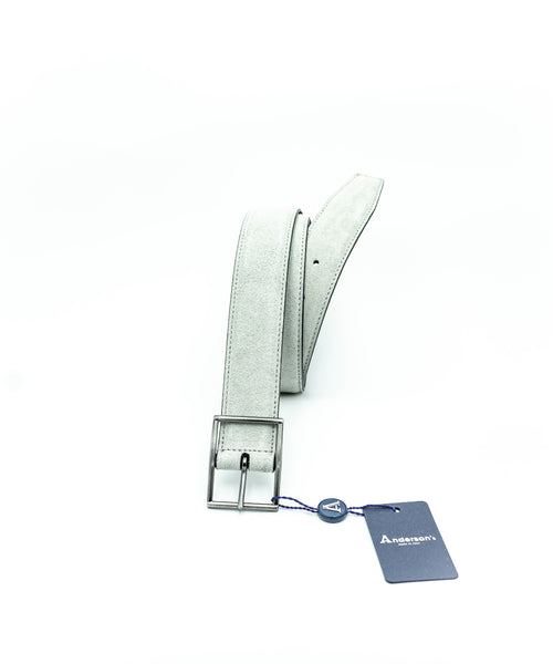 SUEDE BELT / GREY