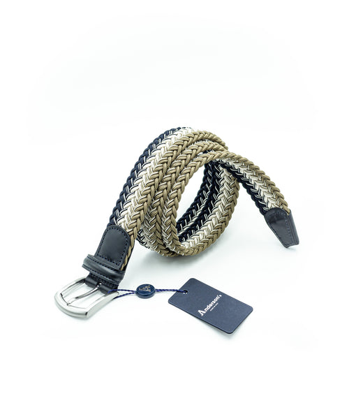 BRAIDED STRETCH BELT / MULTI