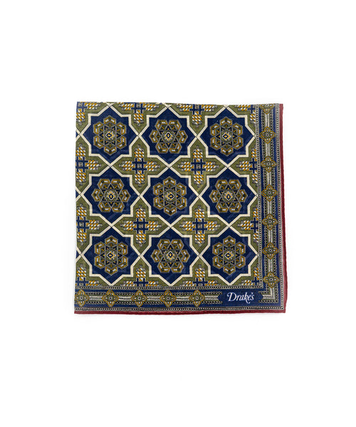 Baroque Tile Pocketsquare POC-44CMK-20270-001