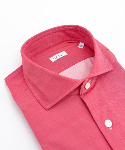 ECO-TECH SOLID SPORT SHIRT / PINK