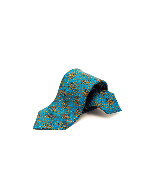 MYTHICAL CREATURE TIE / AQUA