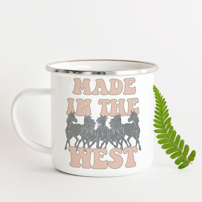 Made in the West Mug - ONE HORSE THREADS
