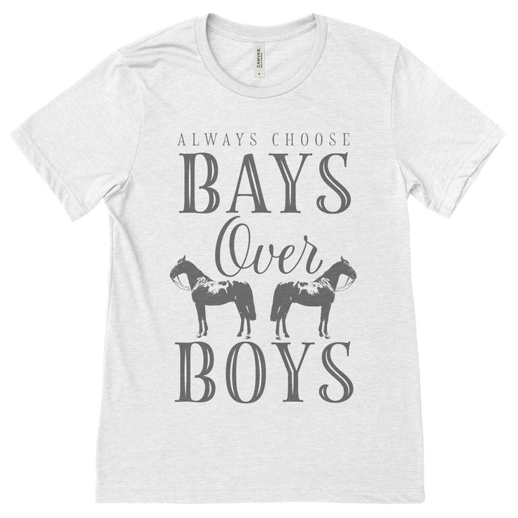 Bays Over Boys - ONE HORSE THREADS